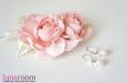 """Розы """"Мини"""" нат.шелк, розовый, 2 шт. Фото 1."""