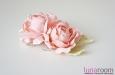 """Розы """"Мини"""" нат.шелк, розовый, 2 шт. Фото 3."""