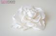 """Роза """"Мини"""" шелк, айвори 10 см. Фото 1."""