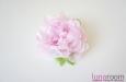 Пион, натуральный шелк, розовый. Фото 1.