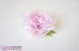 Пион, натуральный шелк, розовый. Фото 2.
