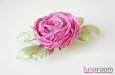 """Роза """"Май"""" заколка-брошь. Фото 1."""