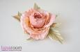 """Rosa Belle"" заколка-брошь. Фото 1."