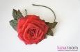"""""""Grand Prix"""" ободок с розой. Фото 2."""