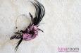 """""""Роккоко"""" шляпка с пером райской птицы. Фото 3."""