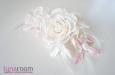 """Веточка с розами """"Свадебная"""". Фото 1."""