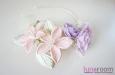"""""""Прованс"""" ободок с цветами. Фото 2."""