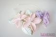 """""""Прованс"""" ободок с цветами. Фото 3."""