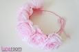 Венок для волос с крупными розами. Фото 1.