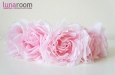 Венок для волос с крупными розами. Фото 2.