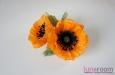 """""""Оранжевое настроение"""" заколка-брошь. Фото 3."""