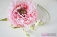 """Мак """"Самурай"""" шляпка, натуральный шелк, розовый. Фото 4."""