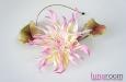 """""""Лотос"""" шляпка, шелк розовый. Фото 1."""