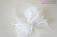 """""""White Angel"""" шляпка с вуалью. Фото 2."""