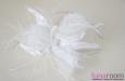 """""""White Angel"""" шляпка с вуалью. Фото 3."""