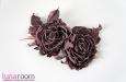 """""""Джейн"""" розы из шелка, брошь, заколка. Фото 1."""