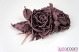 """""""Джейн"""" розы из шелка, брошь, заколка. Фото 3."""