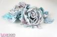 """Люси"" розы из шелка, заколка брошь. Фото 2."
