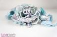 """Люси"" розы из шелка, заколка брошь. Фото 4."