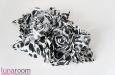 """Black and White"" шелковые розы. Фото 2."