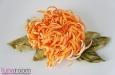 """""""Хризантема"""" заколка брошь, оранжевая. Фото 2."""