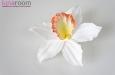 """""""Орхидея"""" брошь заколка, оранжевая. Фото 1."""