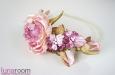 """""""Розовый сад"""" ободок для волос. Фото 2."""