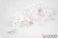 """""""Армин"""" украшение для прически с розовым жемчугом. Фото 3."""