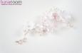 """""""Армин"""" украшение для прически с розовым жемчугом. Фото 4."""
