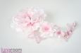 """""""Розовые сны"""" украшение для волос. Фото 3."""