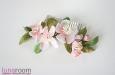 """""""Весна"""" гребень для волос с цветами. Фото 3."""