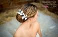 """""""Свадебные розы"""" украшение для волос. Фото 4."""
