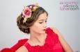 """""""Розовый сад"""" ободок для волос. Фото 1."""