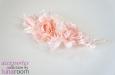 """""""Чайные розы"""" натуральный шелк, нежно розовый. Фото 1."""