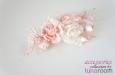 """""""Чайные розы"""" натуральный шелк, нежно розовый. Фото 2."""