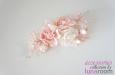 """""""Чайные розы"""" натуральный шелк, нежно розовый. Фото 3."""