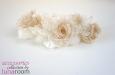 """""""Селена"""" веточка с розами, шелк. Фото 2."""
