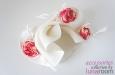 """""""Кокетка"""" шляпка из сизаля с розами. Фото 2."""