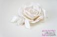 """""""Carla"""" роза, заколка-брошь. Фото 1."""