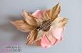 """""""Роза чайная"""" брошь, заколка для волос. Фото 4."""